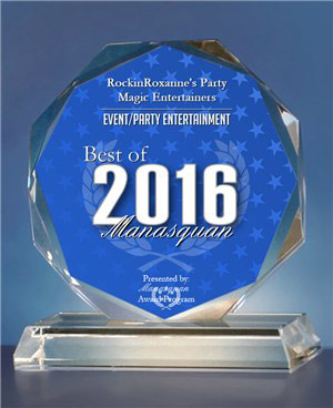 2016 Best of Manasquan Event/Party Entertainment Award