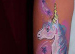 Body Art Unicorn