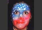 Face Painting Flag