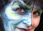 Face Painting Monster