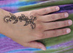 temporary Henna Tattoo